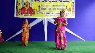 Adrija and Ashwita dance part-2 Akilandeswari song