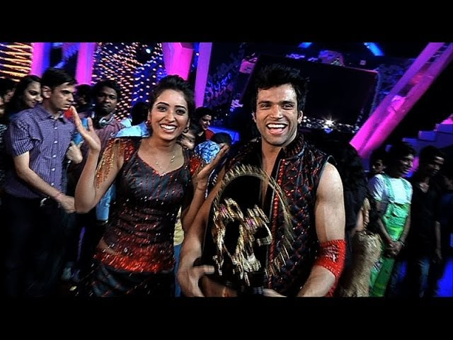 Rithvik Dhanjani and Asha Negi Winner of Nach Baliye 6 - Exclusive