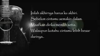 Fatin Shidqia Aku Memilih Setia Official Audio