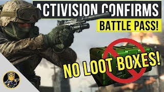 Activision Confirms BATTLE PASS SYSTEM! - NO LOOT BOXES OR SUPPLY DROPS!