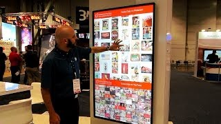 InfoComm 2014: Elo Touch Solutions showcases CIC content on two 70-inch touch screens