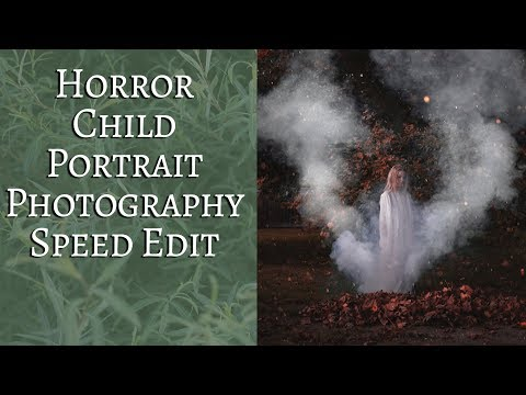 Horror Child Portrait Photography Speed Edit Wild Empress