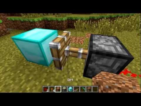 Как сделать алмазную ловушку в майнкрафте