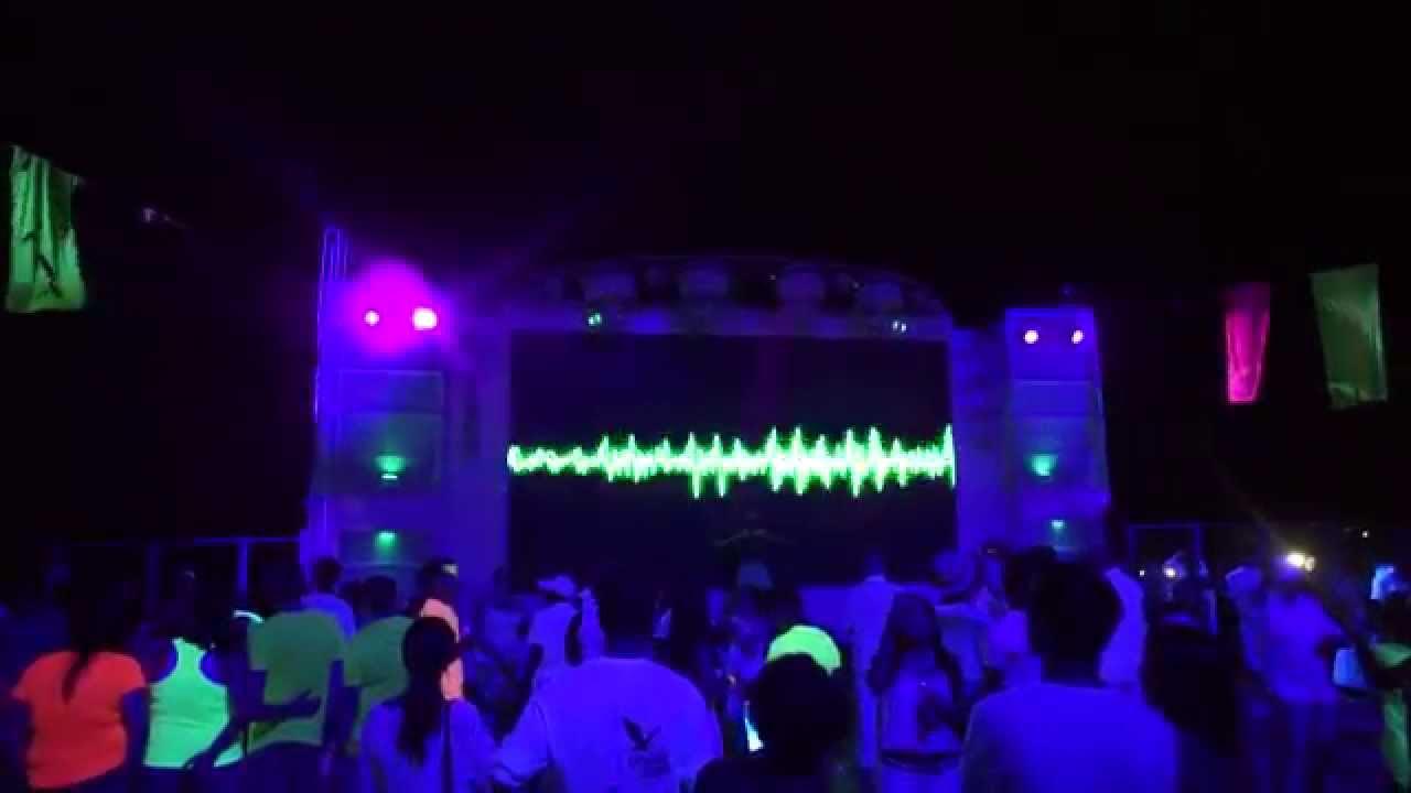 Ncl Glow Party Aboard Norwegian Getaway Youtube