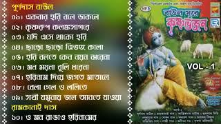 Baul Sure Krishna Bhajan | বাউল সুরে কৃষ্ণ ভজন | Vol - 1 | Janmaashtami Special | Sri Krishna Bhajan