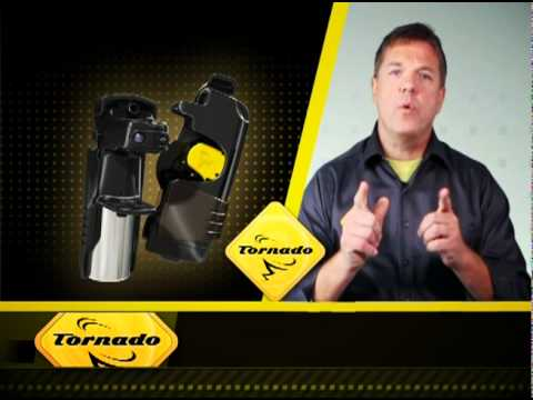 Tornado Personal Defense System Speed Release  - Introduces Speed Release for even faster defense.