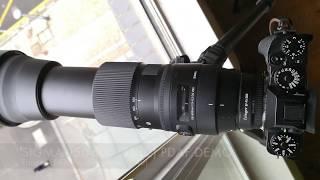 Sigma 150-600 (C) on X-T2 PDAF demo (Fringer EF-FX Pro adapter)