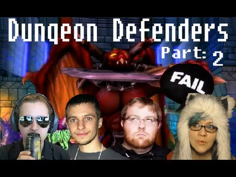 CHIIB PLAYS: DUNGEON DEFENDERS W/ JESSE COX, WOWCRENDOR, AND MYNDFLAME: PART 2