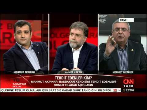 Mehmet Metiner çildirdi