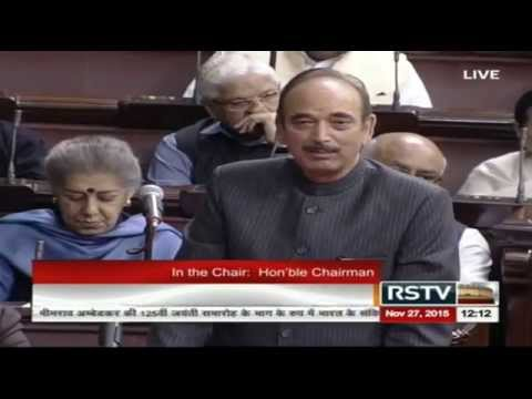 Ghulam Nabi Azad talks of intolerance says BJP's Attempt to Rewrite History