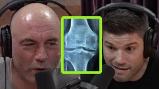 Joe Rogan and Josh Thomson Debate Knees on Ground Rule