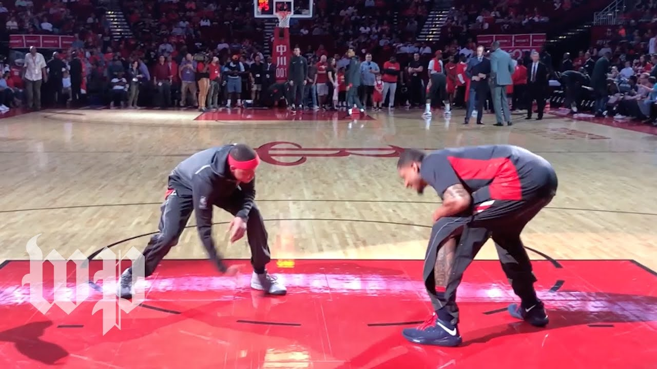 Watch how Wizards players get ready for a game