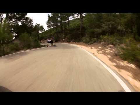 Longboarding Secret Spain Run with the Original Skateboards Arbiter KT