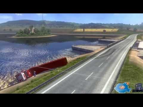 Romanian map ETS2 (Euro Truck Simulator 2) Update v2.0 v1.8.2.5