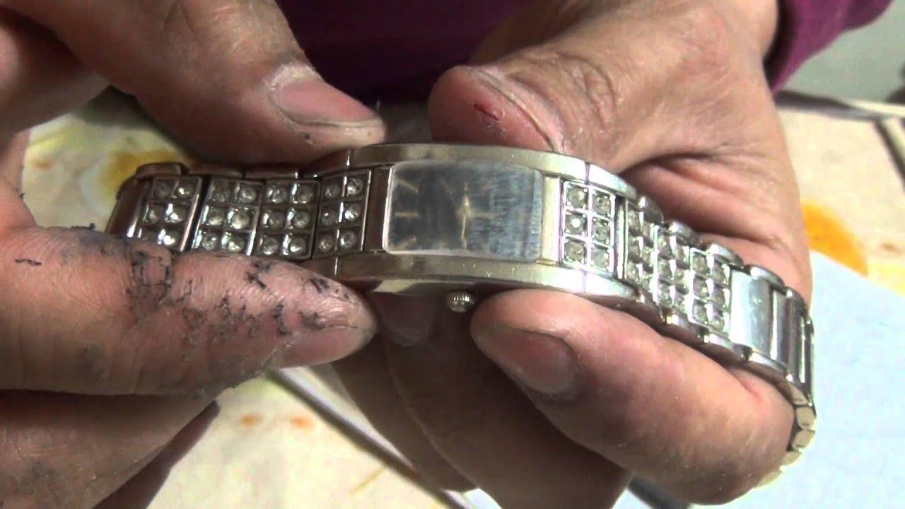 Как заменить стекло в часах своими руками