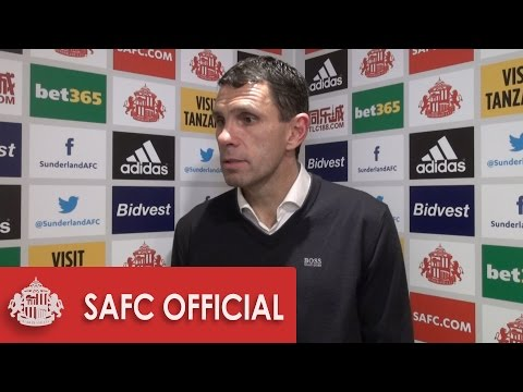 Gus Poyet's reaction after draw against West Ham