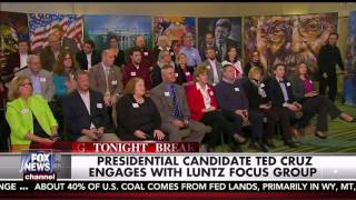 Ted Cruz Joins the Frank Luntz Focus Group after the #GOPDebate