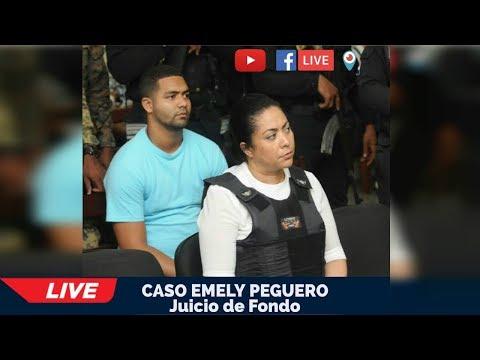 ¡EN VIVO! Continuación juicio de fondo caso Emely Peguero - 19/10/2018