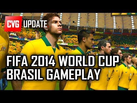 2014 FIFA World Cup Brazil Demo Gameplay - Brazil vs England