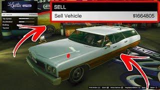 So Verkaufst du JEDES Straßen Auto für MILLIONEN! SOLO UNLIMITED MONEY GLITCH GTA V | MONEY GLITCH