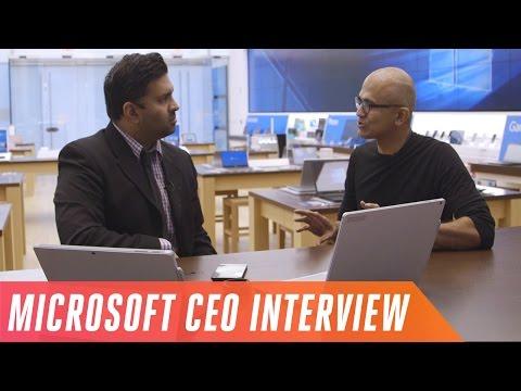 CEO Satya Nadella's vision for Microsoft