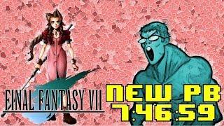 Final Fantasy 7 No Slots Speedrun in 7:46:59 A NEW PERSONAL BEST