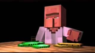 Minecraft Cuộc Đấu Giá của Dân làng