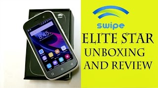 Swipe elite Star Unboxing and Initial Impressions|Cheapest 4G VOLTE Smartphone| android Buddy|