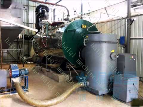 biomass burner , biomass gasifier to replace oil and coal .mp4