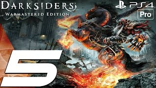 Darksiders Warmastered Edition - Gameplay Walkthrough Part 5 - Anvil's Ford & The Hollows (PS4 PRO)