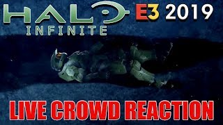 Halo Infinite | Live Crowd Reaction At Xbox E3 2019 Press Conference