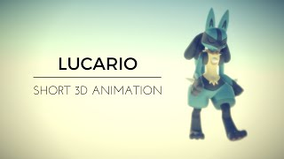 Lucario 3D Short Animation [Pokémon]