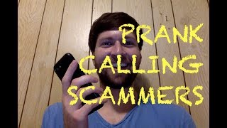 Prank Calling Scammers as Kermit the Frog