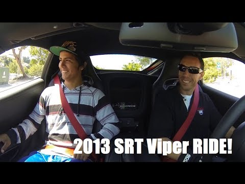 2013 SRT Viper Ride A Long!