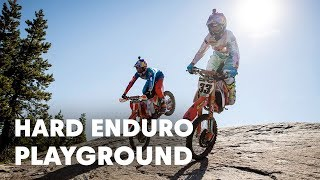 Shredding the Ultimate Hard Enduro Playground at a Classic Tahoe Ski Hill | Donner Partying 2016