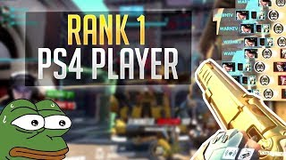 Playing against the RANK 1 PLAYER on Overwatch - Top 500 Xbox/PS4 (INSANE)