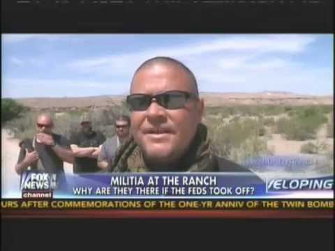 James Yeager at the Bundy Ranch on FOX News