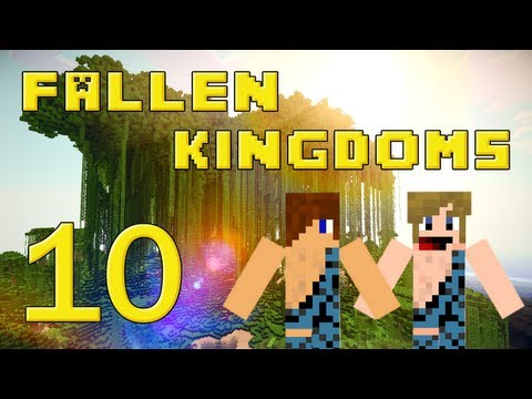 Fallen Kingdoms 2 : Siphano & Xef | Jour 10 - Minecraft video