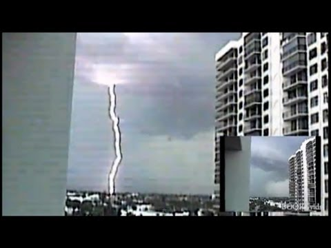 Florida Tornado Caught on Camera - Stabilized RAW Footage
