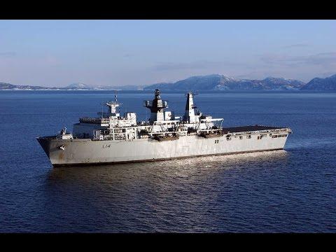 HMS Albion: Rare Access To Mothballed Royal Navy Ship