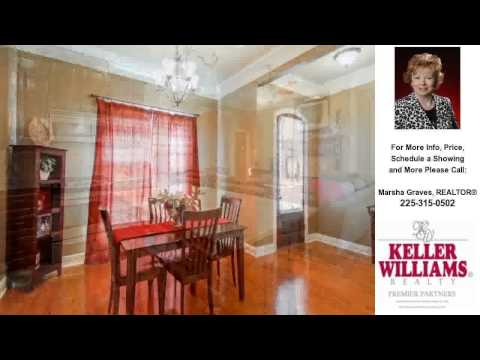 12359 Plantation Creek Drive, Geismar, LA Presented by Marsha Graves, REALTOR®.