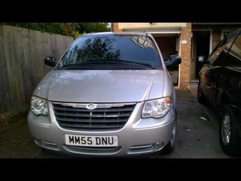 grand-voyager minivan -autobaun enter van camper