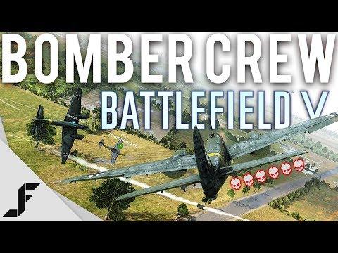 Battlefield 5 Bomber Crew