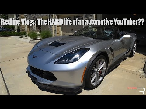 The Life of An Automotive YouTuber – Redline Reviews: Vlog 1