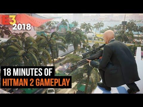 18 Minutes of Hitman 2 Gameplay