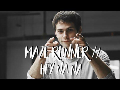 Maze Runner // Hey Na Na [gag reel]