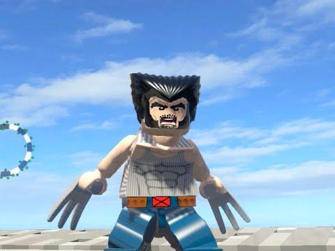 LEGO Marvel Superheroes - WOLVERINE X-MEN ORIGINS FREE ROAM GAMEPLAY (MOD SHOWCASE)