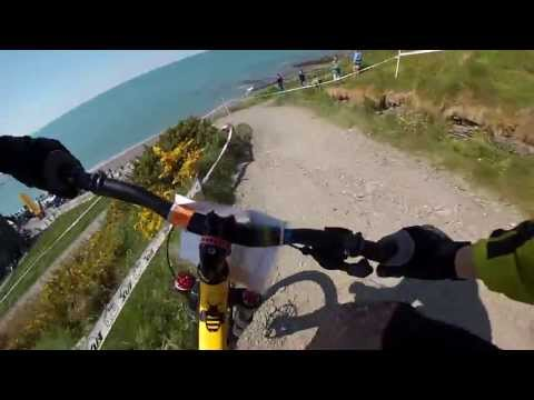 Aberystwyth Cycle Festival, Constitution Hill Downhill MTB GoPro Hero3