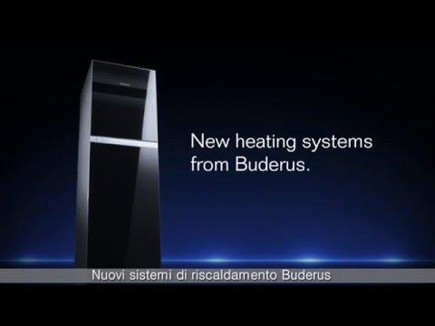 Nuovi sistemi di riscaldamento Buderus: tecnologia touch e controllo remoto