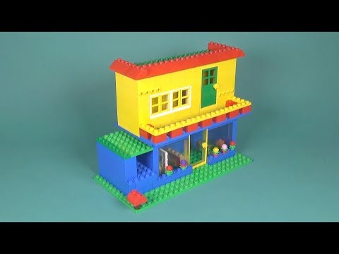 Lego Basic House 019 Building Instructions Lego Classic How To